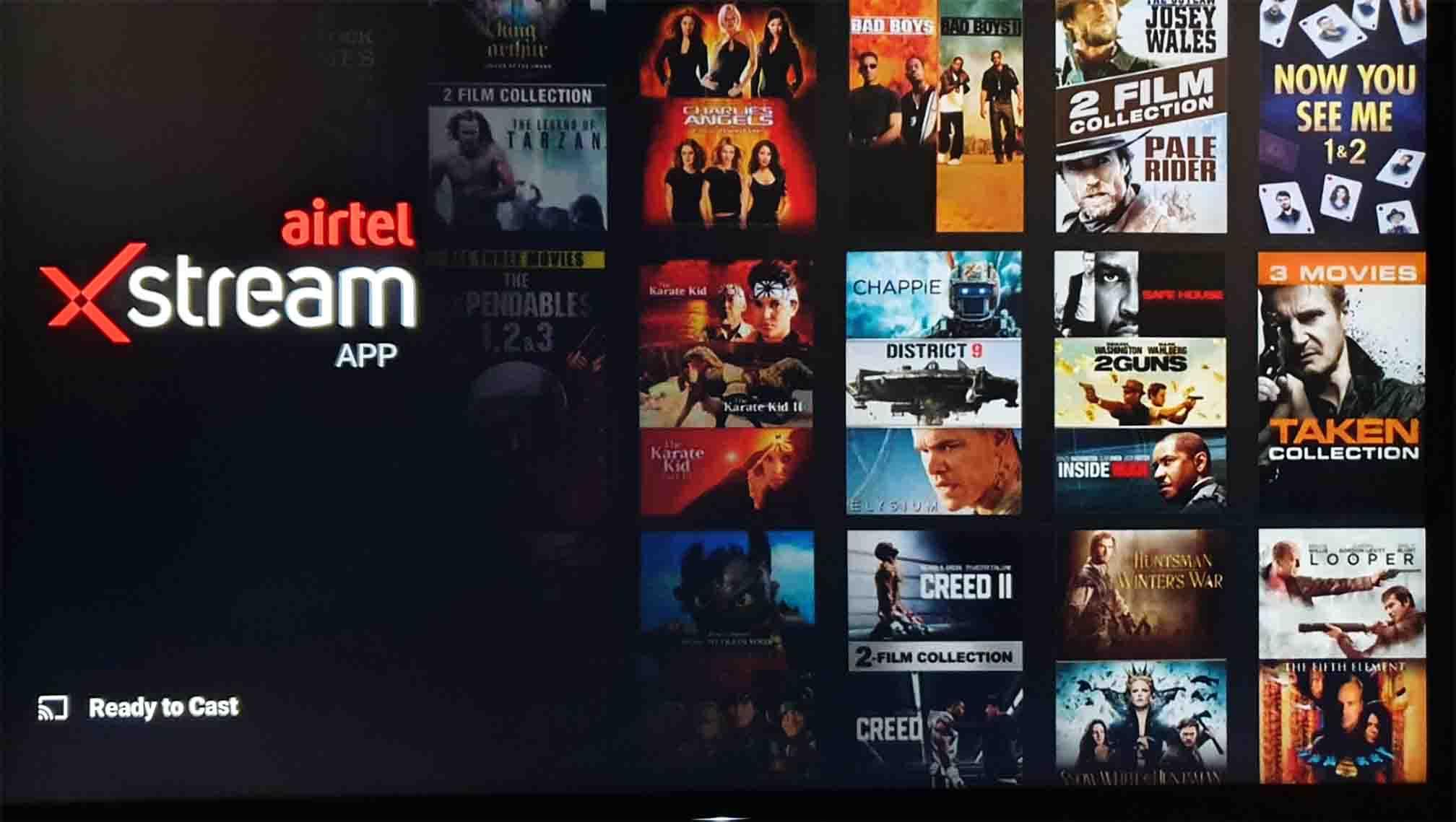 Airtel Xstream Chromecast