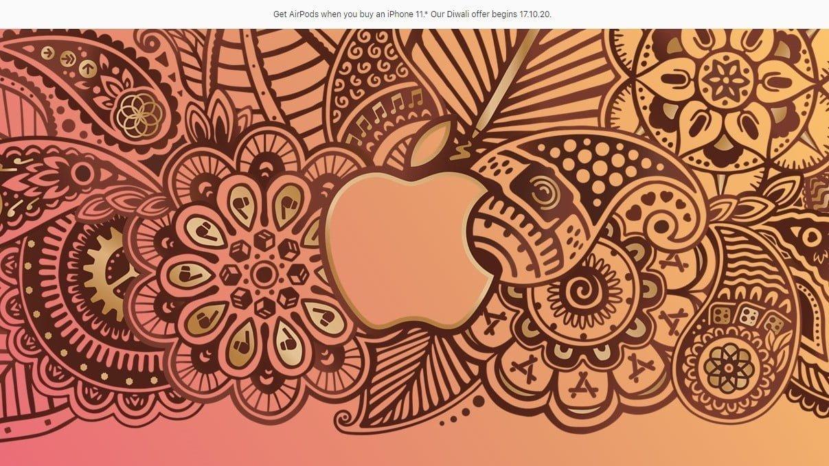 Apple India online store Diwali offer