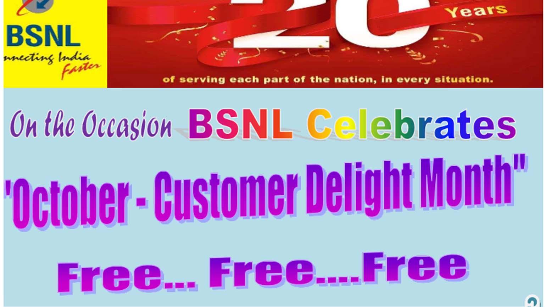 BSNL October Delight Month