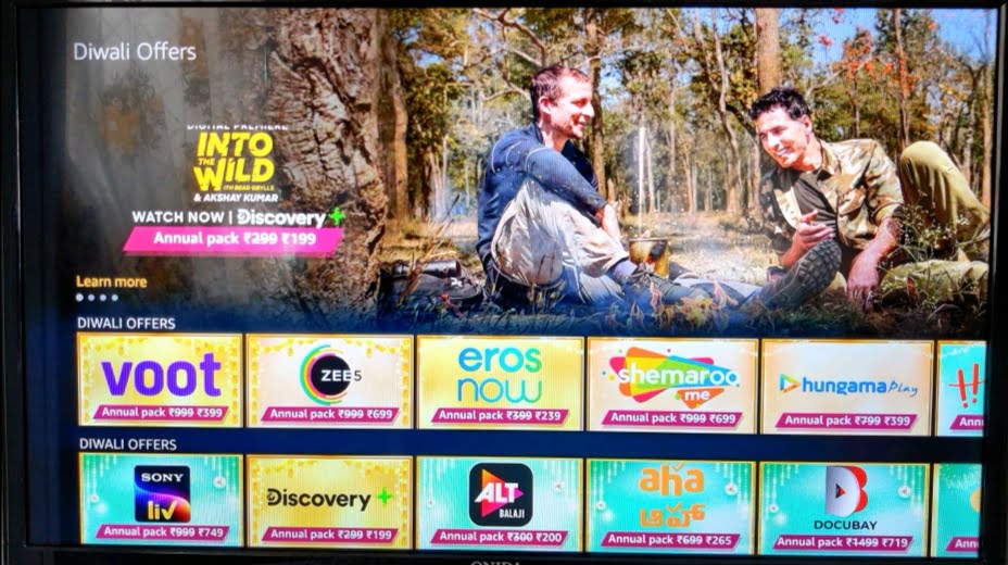 Fire TV Discounted OTT
