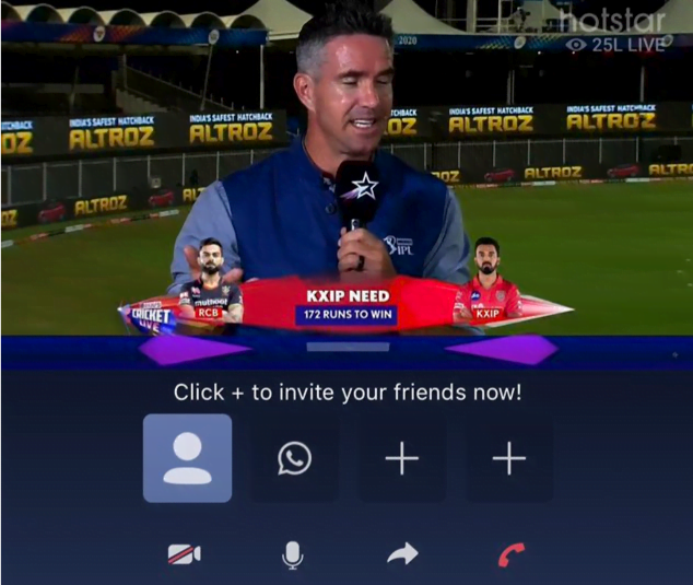 IPL 2020: Disney+ Hotstar rolls out Watch Party feature