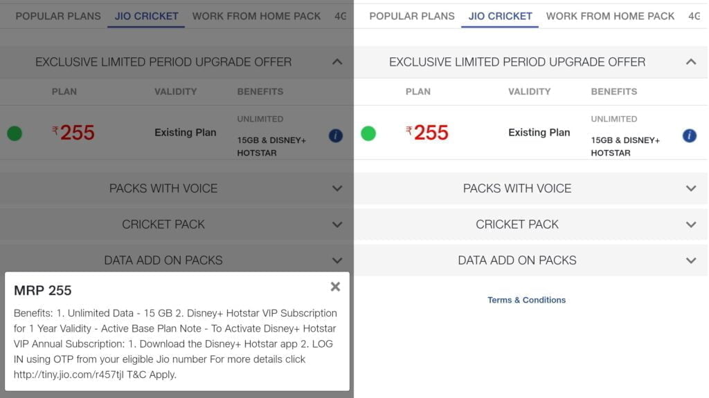 Reliance Jio revises price of Rs 222 Disney+ Hotstar VIP add-on pack