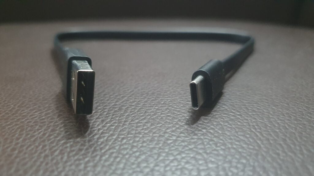 Mi Power Bank 3i Charging cable