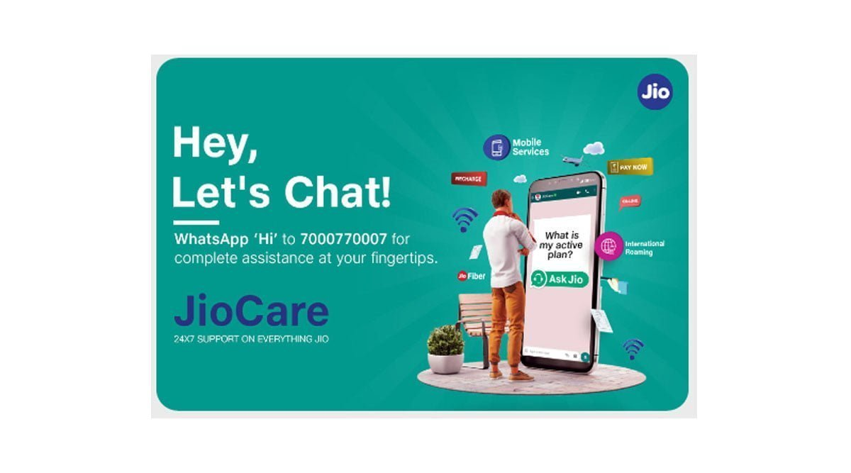 JioCare on WhatsApp