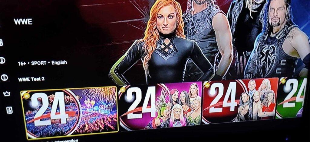 WWE Test SonyLIV 2