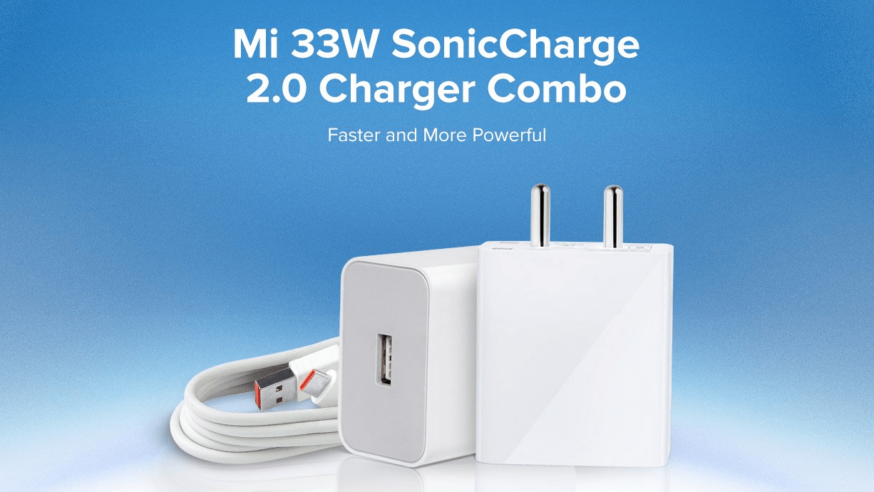 Xiaomi Mi 33W SonicCharge 2.0 charger