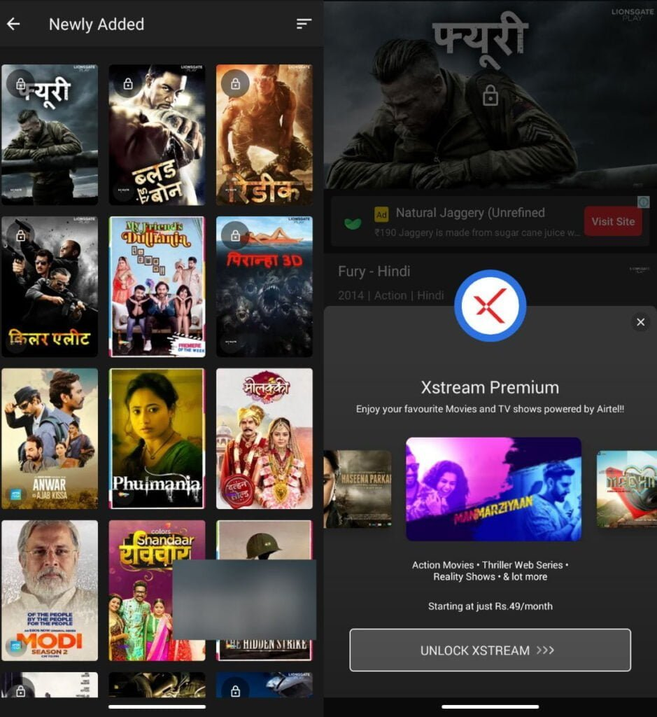 You can soon upgrade from Airtel Xstream Basic to Airtel Xstream Premium at Rs 49 per month