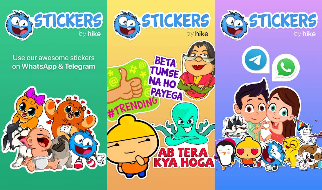 Stickers by Hike