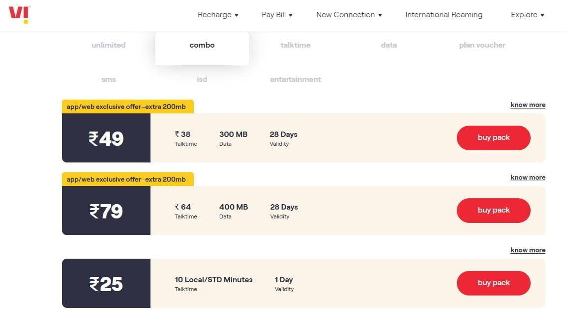 Vi launches Rs 25 prepaid plan in Chennai and Tamil Nadu