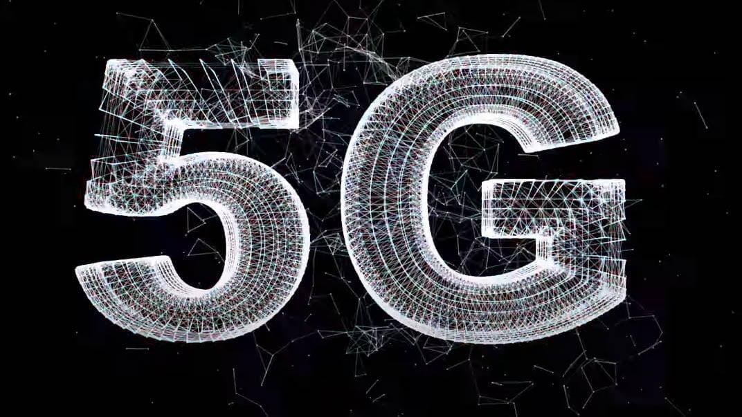 5G Black Banner