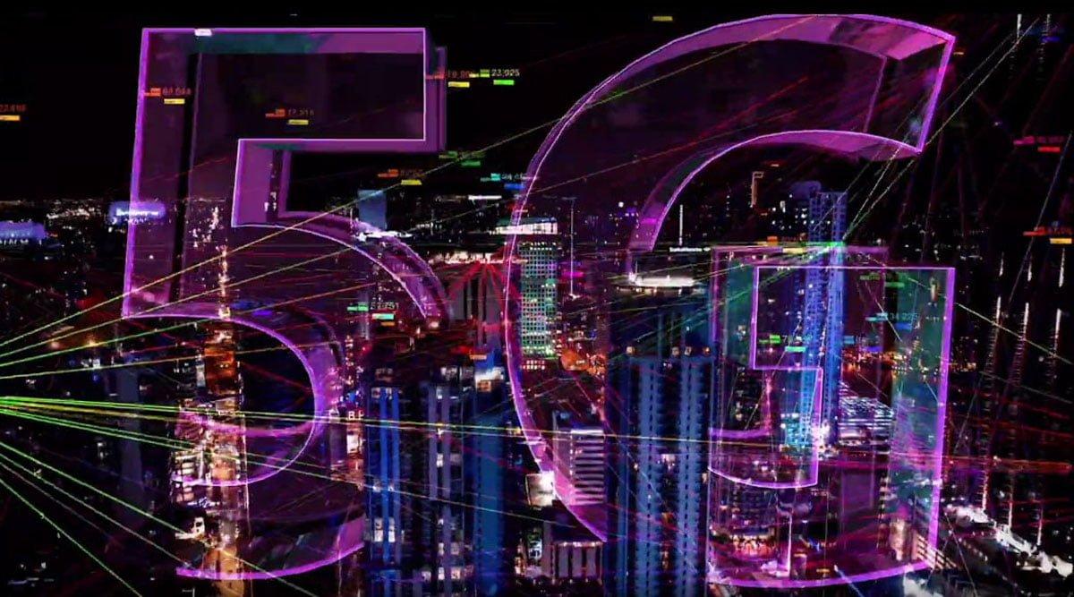 5G Lighting Buildings Banner