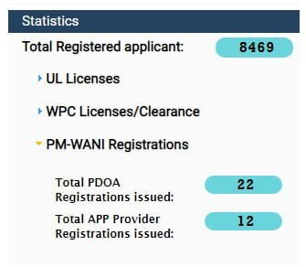 34 PDOA and App provider registrations issued under PM-WANI; Delhi based i2ei launches PDO under PM-WANI