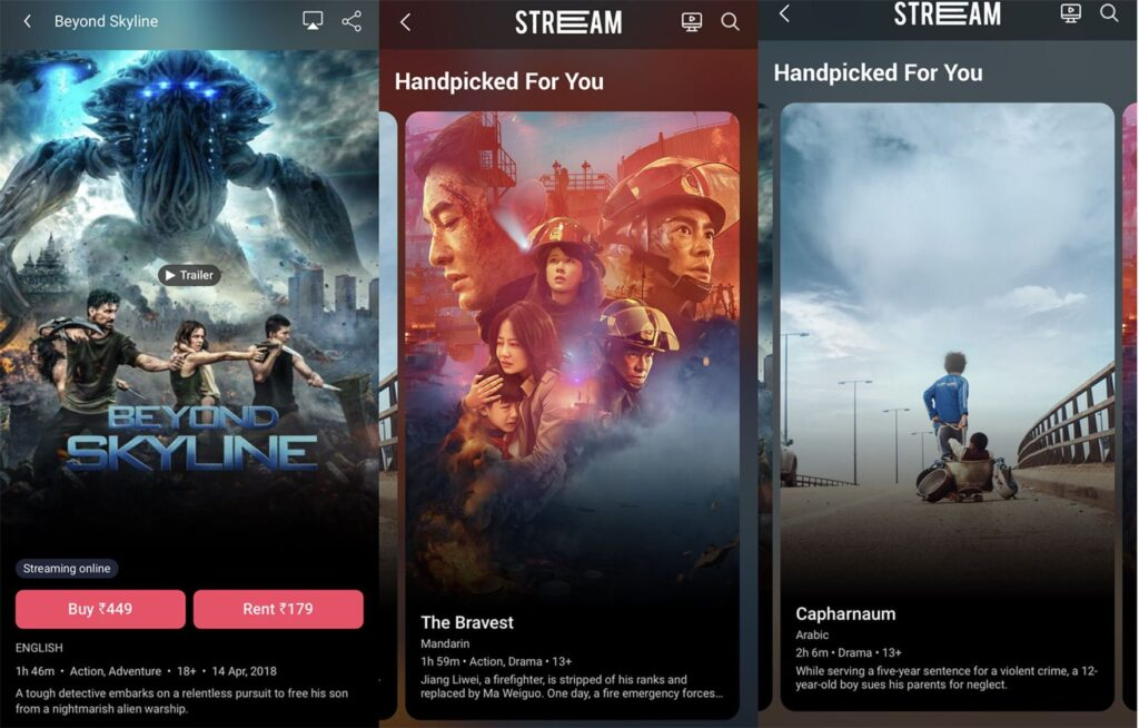 BookMyShow introduces 'BookMyShow Stream' allowing one to buy or rent movies