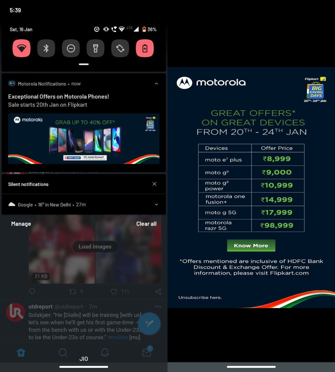 Flipkart Big Savings Day to offer up to 40% off on Motorola Phones