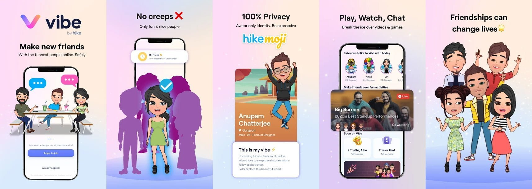Vibe by Hike AMP Banner