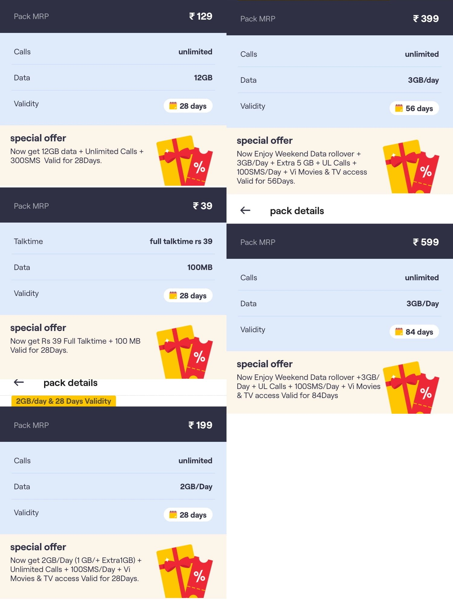 Vi's port-out offers for prepaid customers include 12GB data on Rs 129 plan