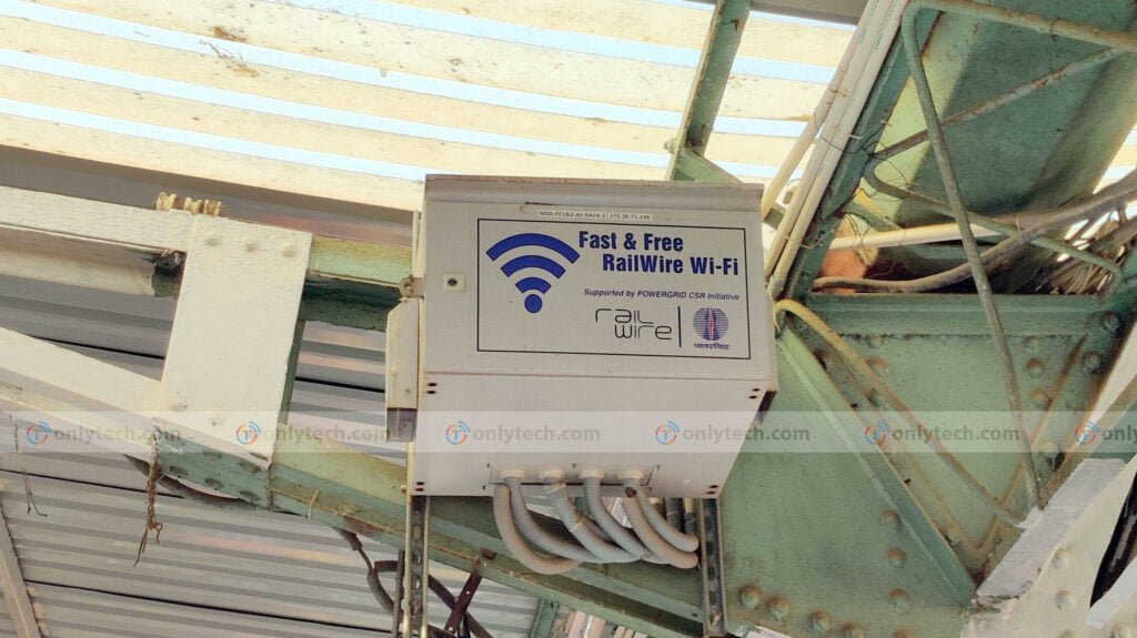 Hands-on review of RailWire paid wifi service at railway stations