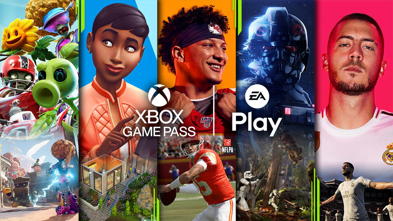 Xbox Game Pass and EA Play