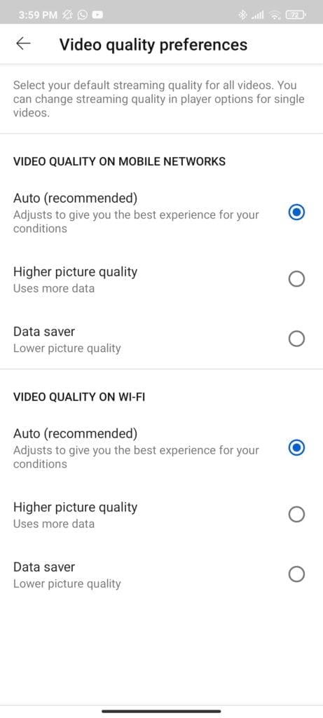 YouTube Advanced Control