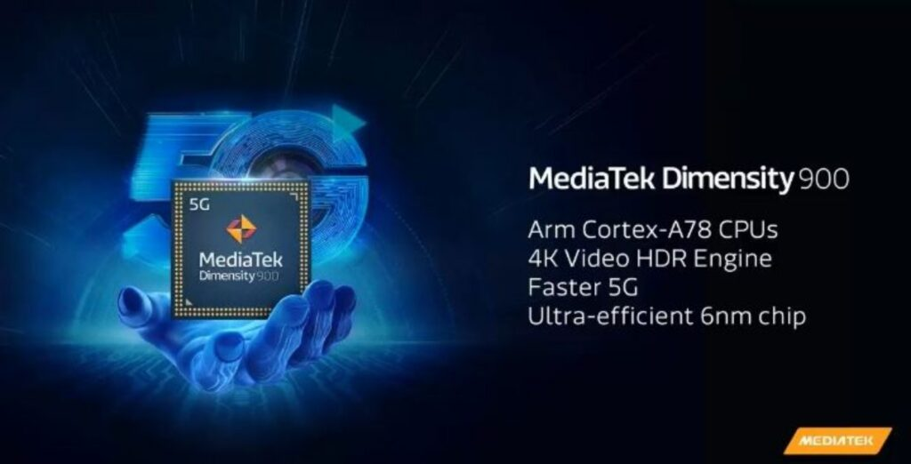 MediaTek Dimensity 900 5G SoC with 6nm process launched for mid-range smartphones