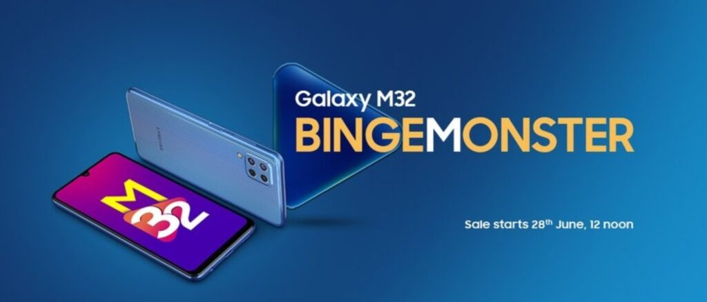 Samsung Galaxy M32 launched with 6,000mAh battery, 90Hz sAMOLED display