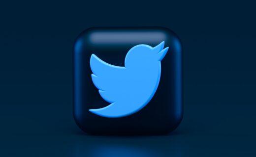 Twitter 3D Logo