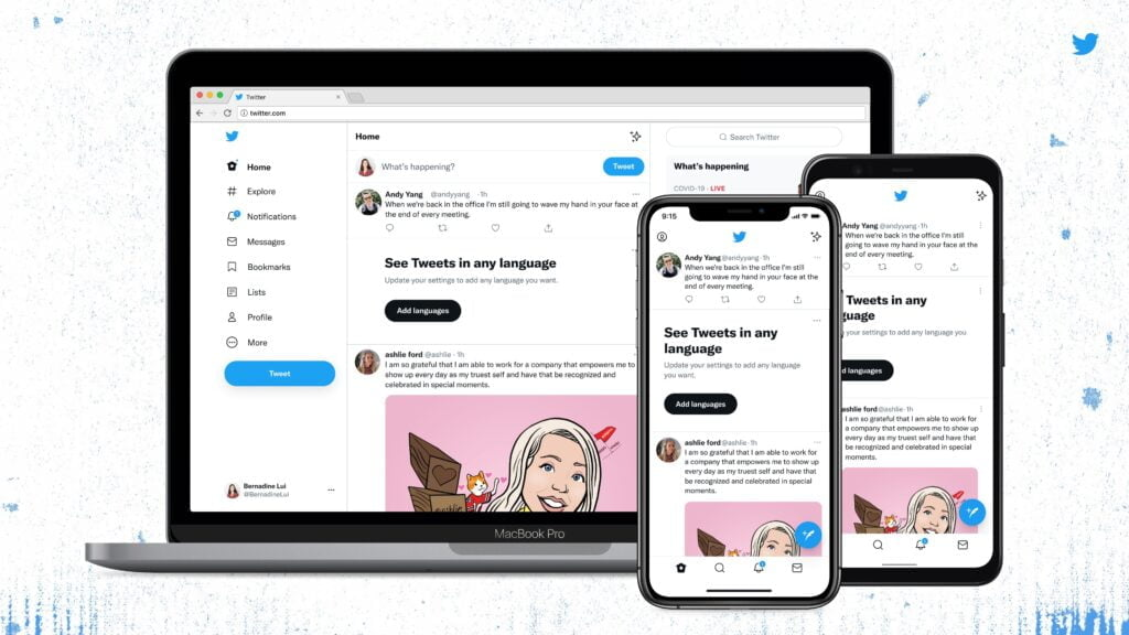 Twitter redesign rolling out with new font, colour changes, less visual clutter