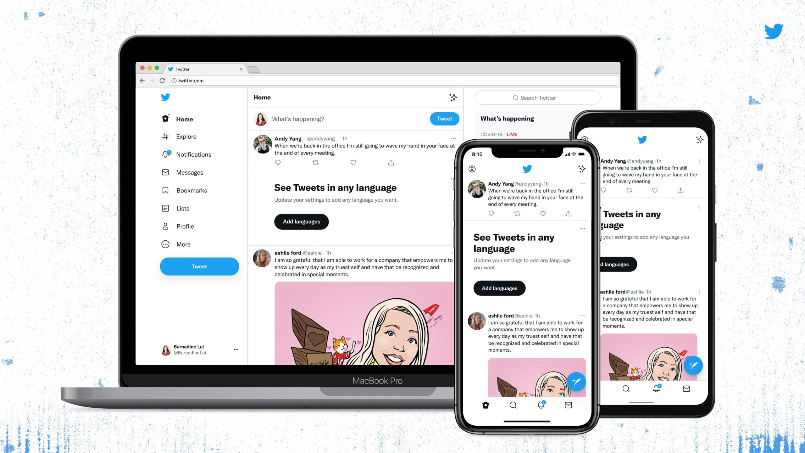 Twitter Redesign scaled