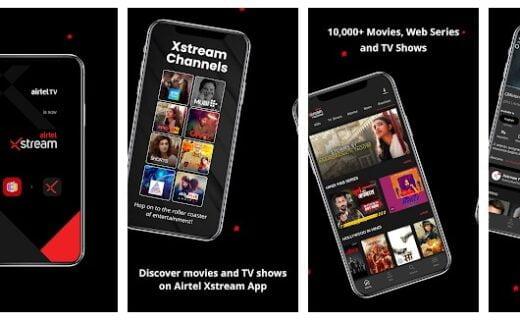 Airtel Xstream App