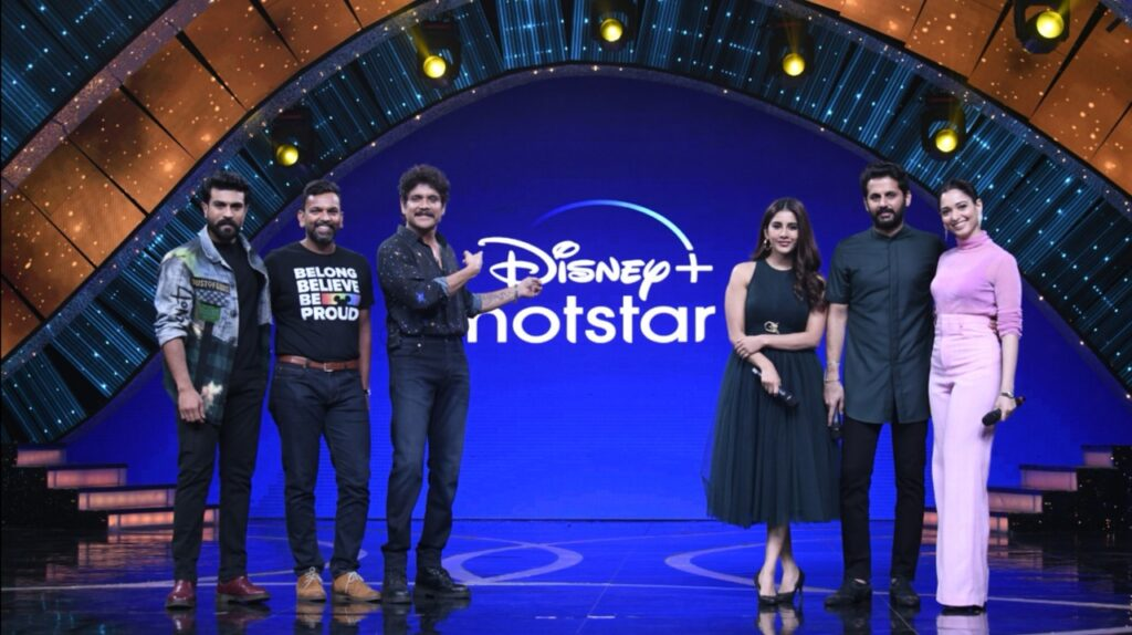 "Disney+ Hotstar unveiled the ""Mana Vinoda Vishwam!"" campaign for Telugu Market featuring Ram Charan"