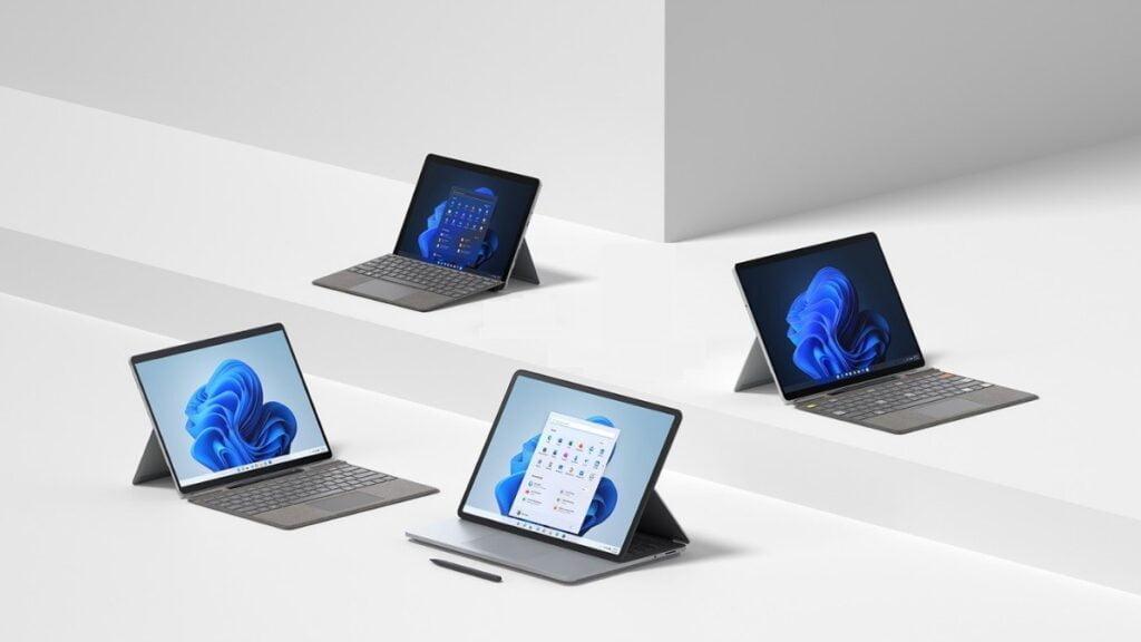 Microsoft Surface Laptop Studio, Surface Pro 8, Surface Go 3 announced