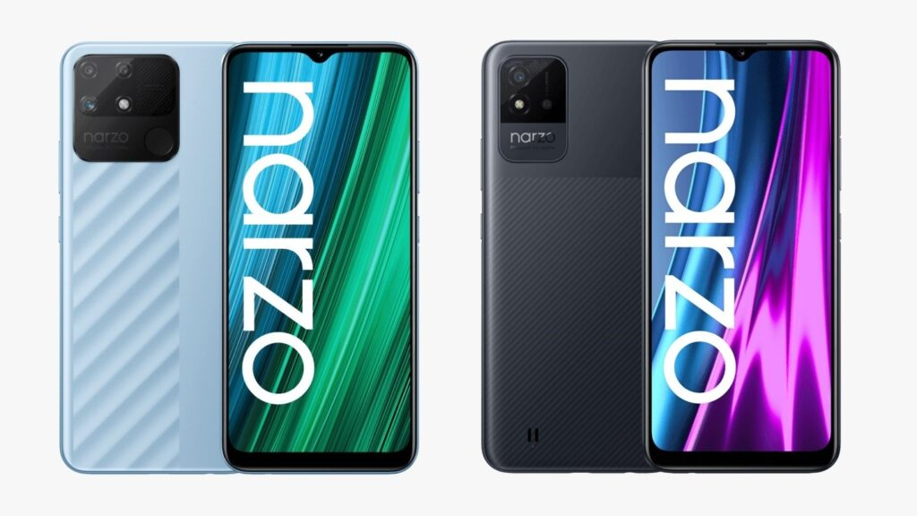 Realme Narzo 50A, Narzo 50i with 6.5-inch mini-drop notch display launched in India