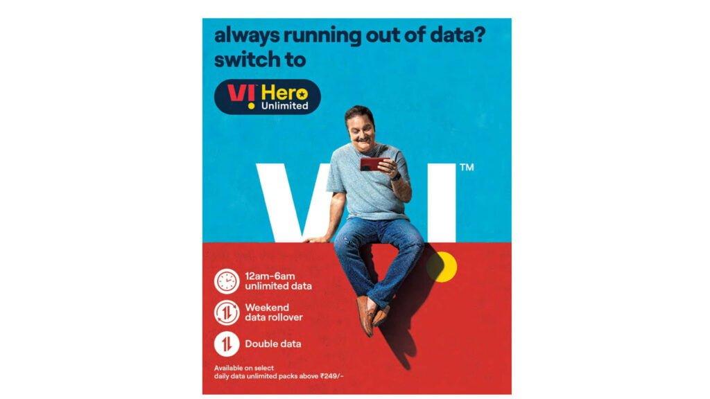 Vi no longer offering Double Data benefit for Andhra Pradesh & Telangana subscribers