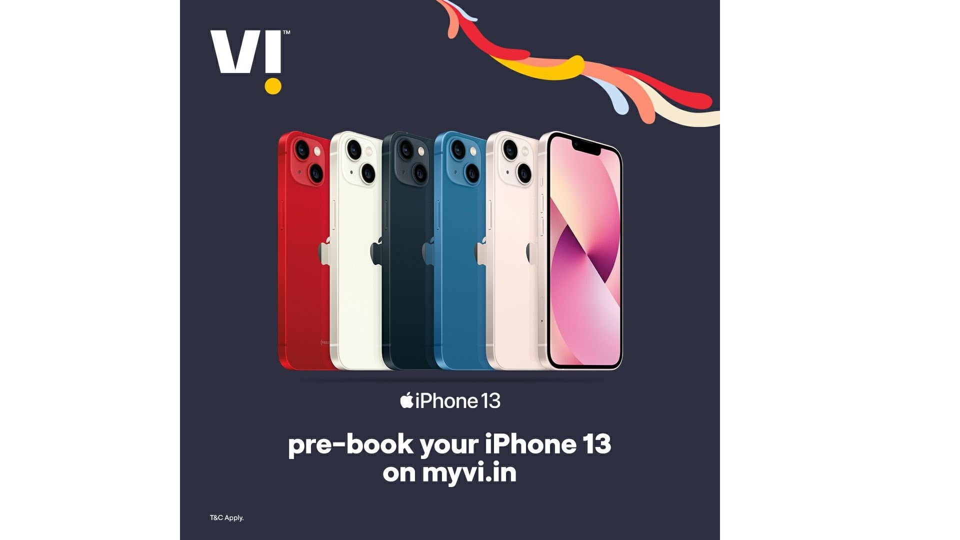 Vi iPhone 13 Pre Order