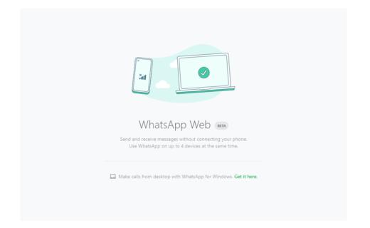 WhatsApp Web Beta